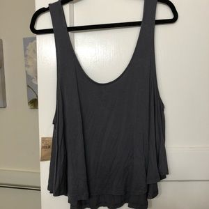 New With Tags Loose Grey American Eagle Tank Top